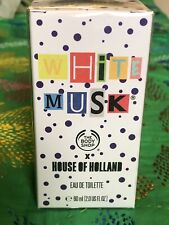 The Body Shop White Musk Perfume House Of Holland EDT Limited Edition