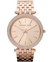 Michael Kors Women's Darci MK3192 Rose-Gold Stainless-Steel Fashion Watch