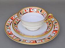 Rosenthal Art Deco Gedeck kubistischer Dekor