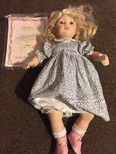 "Collectible doll Pauline ""Caitlyn"" Le 58 of 950 w/box, Coa, 16"" tall"