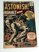 Tales to Astonish #8 Marvel Comics 1960 low grade
