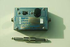 VINTAGE Electro Harmonix LPB-1 Linear Power Booster 1977 Silver / Blue