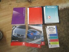 Holden VZ COMMODORE owners manual SERVICE OR HAND BOOK  all VZ