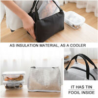Childrens Adult Kids Lunch Thermal Bag Cool bag School Storage Insulated bags