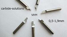 1 VHM Einstechmeißel Ø 3,175/1,1 Drehmeißel Sicherungsring CNC cutting lathe