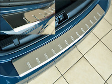 BMW X5 M III (F15) ab 2013  Edelstahl Ladekanteschutz S4.0 mit Abkantung AF