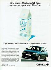 Publicité Advertising 059  1997   Opel Astra GL Pack série limitée
