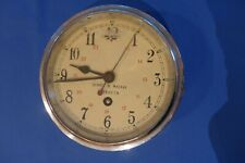 Antique Berry & Mackay Ships Clock Aberdeen Scotland Coventry Astral Movement