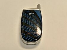 LG Model VX3300 Black/Blue/Silver Verizon Wireless Flip Cell Phone *Tested*