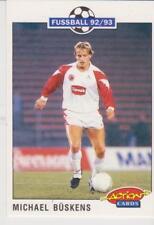 Panini Fussball 92-93 Action Cards #202 Michael Buskens FC Schalke 04