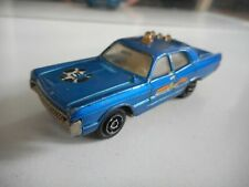Majorette Plymouth Police #5 in Blue