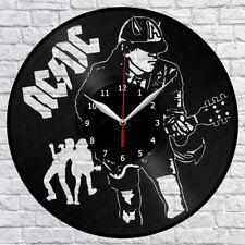 "AC / DC AC/DC  Music Vinyl Record Wall Clock Fan Art Home Decor 12"" 30cm 1867"