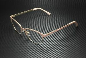 VERSACE VE1251 1424 Matte Pink Pale Gold Demo Lens 53 mm Women's Eyeglasses