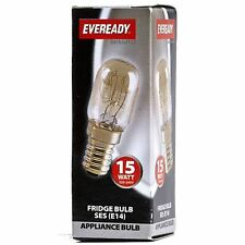 Eveready Fridge Appliance Lamp Bulb 15W 240V SES Base (E14)