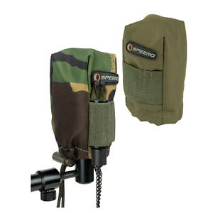 Speero Tackle Alarm Pouch Fully Padded Covers Carp Fishing Kit DPM or Green