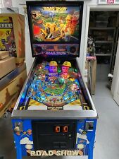 1994 RED AND TEDS ROAD SHOW PINBALL MACHINE LEDS NICE EXAMPLE PAT LAWLOR
