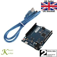Leonardo R3 ATMega32u4 Microcontroller Board Arduino IDE Compatible & USB Cable