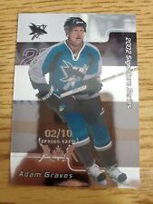 2001-02 BAP Signature Series Toronto Spring Expo #168 Adam Graves 2/10