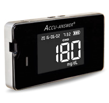 Accu-Answer iSaw Monitoring System Glucose, Cholesterol, Uric Acid, Hb Meter