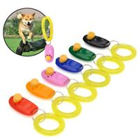 Click Clicker Obedience Training Trainer Aid Wrist Strap for Puppy Dog Pet ,~