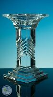 LEAD CRYSTAL CANDLESTICK SHABBY CHIC INTERIOR DESIGN