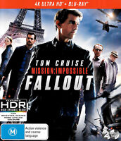 MISSION IMPOSSIBLE: FALLOUT - Rare Blu-Ray Aus Stock -Excellent