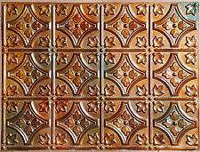 Plb 10 Faux Tin Ancient Copper Finish Cafe Club Ceiling Tiles Panels 10tiles Lot
