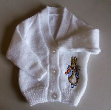 Peter Rabbit Knitted baby cardigan design 2 (New)