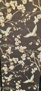 Sublime Japan Black/Green Textured Wallpaper