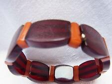 ART DECO antikes Bakalit Amber Bernstein Armband Barcelet   Nr.65