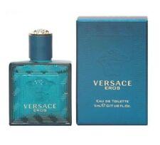Versace Eros Men Mini Bottle 0.17 oz 5 ml *Eau De Toilette* Dab-On Splash Nib