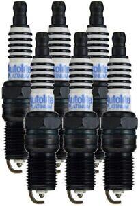 Autolite AP5263 Platinum Spark Plug (6 Pack)