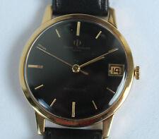 Armbanduhren aus echtem Leder und Massivgold für Herren