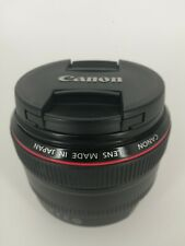 Canon EF 50mm f/1.2L USM Ultrasonic Lens - Black (USED)