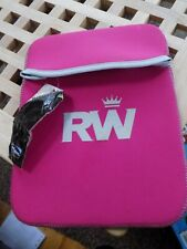 New RW Soft Neoprene Sleeve Case Cover Bag Pouch 10 x 7 ins Notebook Laptop Pink