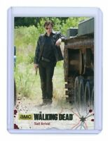 The Walking Dead Season 4 Part 1 Card 23 Gold Base Parallel /25 Sad Arrival