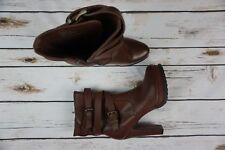 Steve Madden Women's Size 8 Light Brown Nitefal Ankle Boots