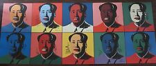 Complete set Andy Warhol Mao Zedong Lithograph's Limited 2400 pcs.