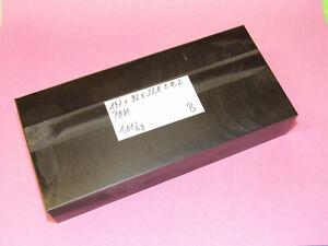 POM / DELRIN-Platte 197 x 92 x 37,8 mm - Schwarz - 1,01 kg - B