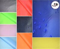 """Water Resistant Ripstop Fabric Lightweight 60"""" Polyester Waterproof Material"""