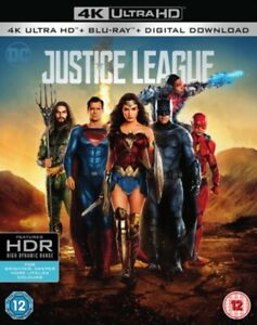 DC - Justice League (4K Ultra HD + Blu-ray) with Slip Cover - Ben Affleck