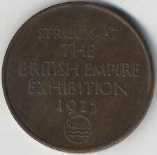 1925 Imperio británico noble Industries Ltd medalla *** *** *** Alto Grado De Coleccionistas