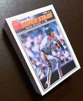 "50) WADE BOGGS Boston Red Sox 1990 Kmart ""SUPER STARS"" Baseball Card #19 LOT"