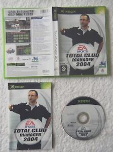26790 Total Club Manager 2004 - Microsoft Xbox (2003)