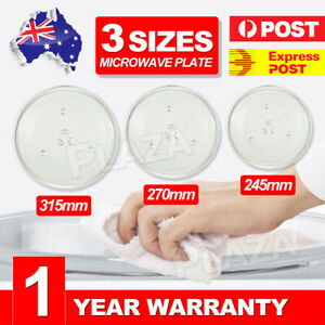 Microwave Oven Platter Turntable Glass Tray Glass Plate Dia 245/270/315mm AU