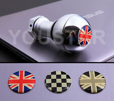 SHIP from AU CHROME SHORT Weighted MT Gear Knob MINI Cooper R53 R56 Union Jack