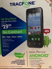 ALCATEL ONETOUCH PIXI PULSAR 4G TRACFONE ANDROID SMARTPHONE PREPAID
