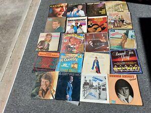 Bulk lot of vinyl Records - The Seekers Glen Campbell Jerry Vale etc
