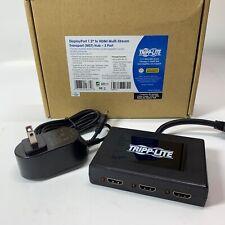 TRIPP LITE 3-Port DisplayPort to HDMI Multi Stream Transport Hub MST, DP 1.2, DP