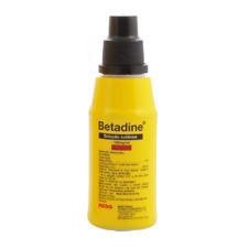 Betadine ORIGINAL- 10% Povidone Iodine First Aid Antiseptic 125ml NEW